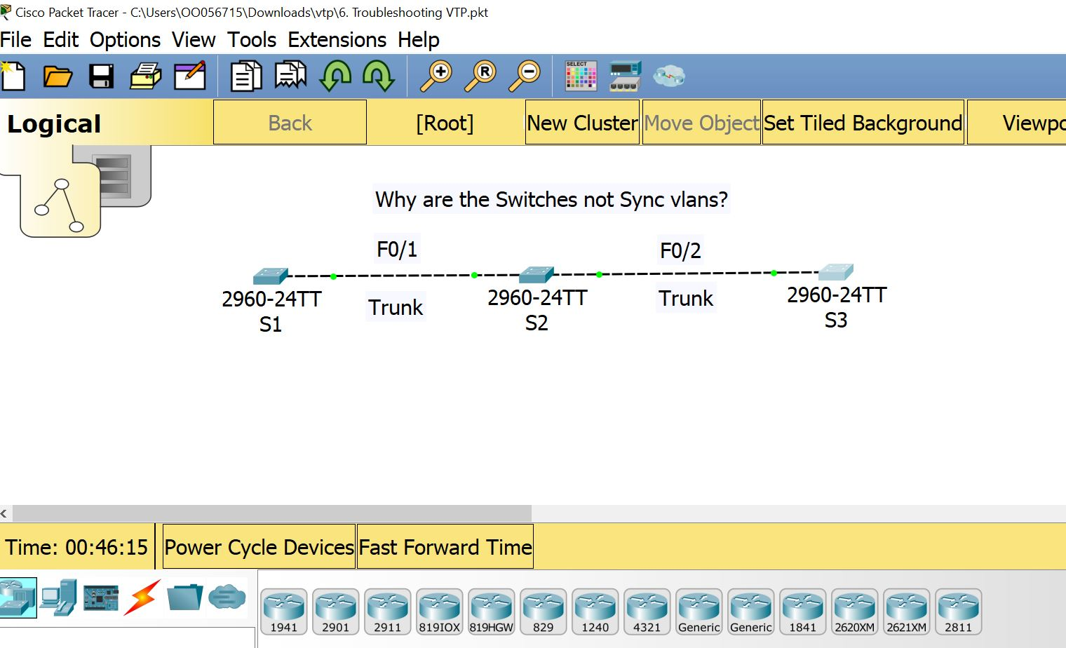 Troubleshooting VLAN Trunk Protocol in Server Mode (VTP)