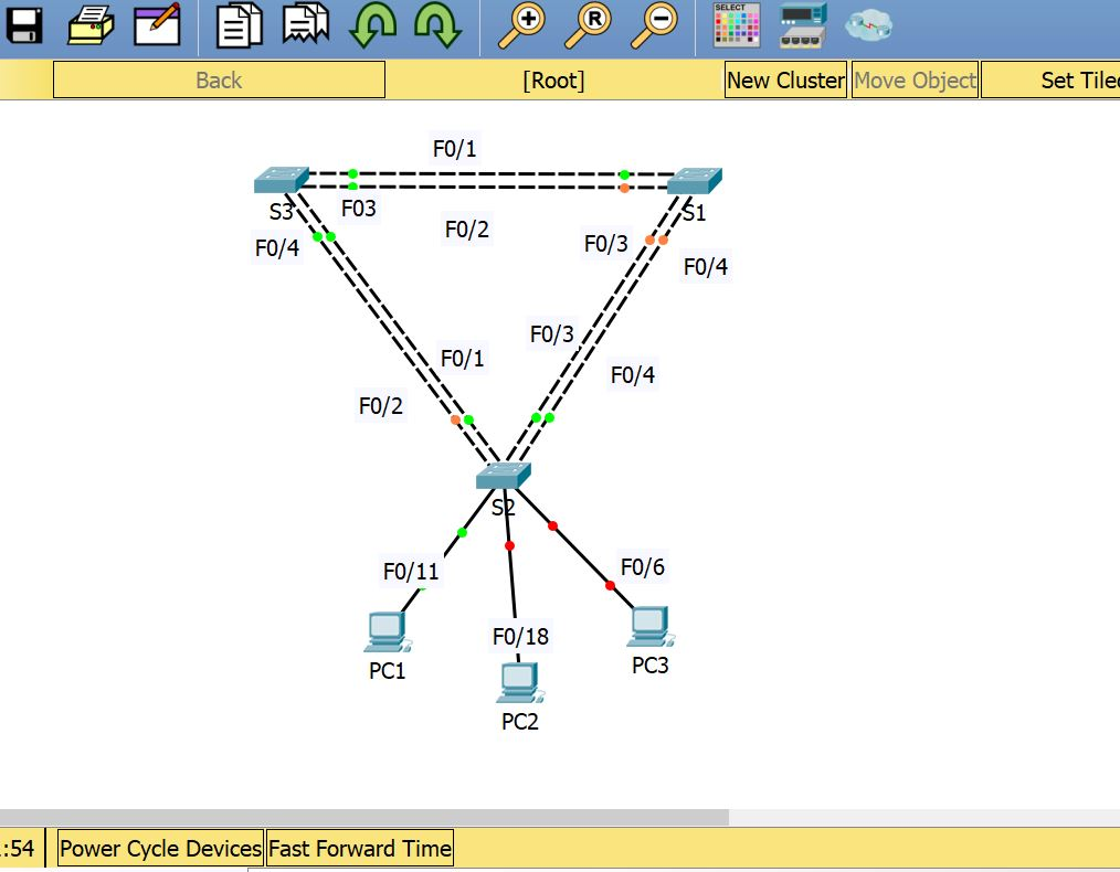 ICND2 Lab for Configuring Rapid PVST+ With Packet Tracer