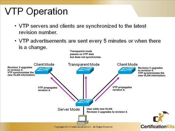 VTP Protocol For the CCNA Cert