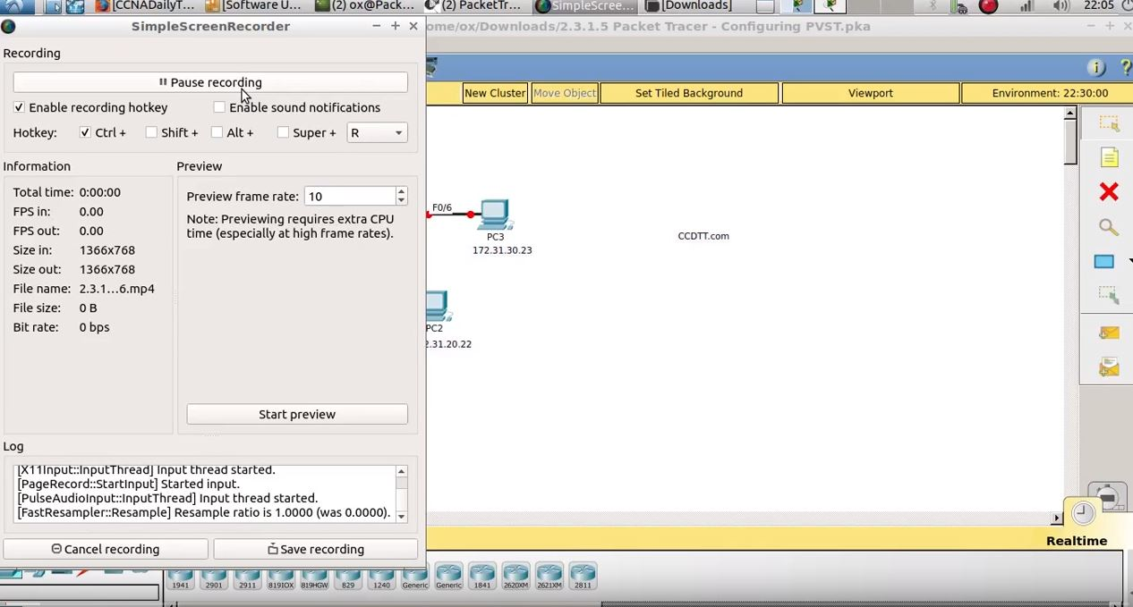 2.3.1.5 Packet Tracer – Configuring PVST.pka