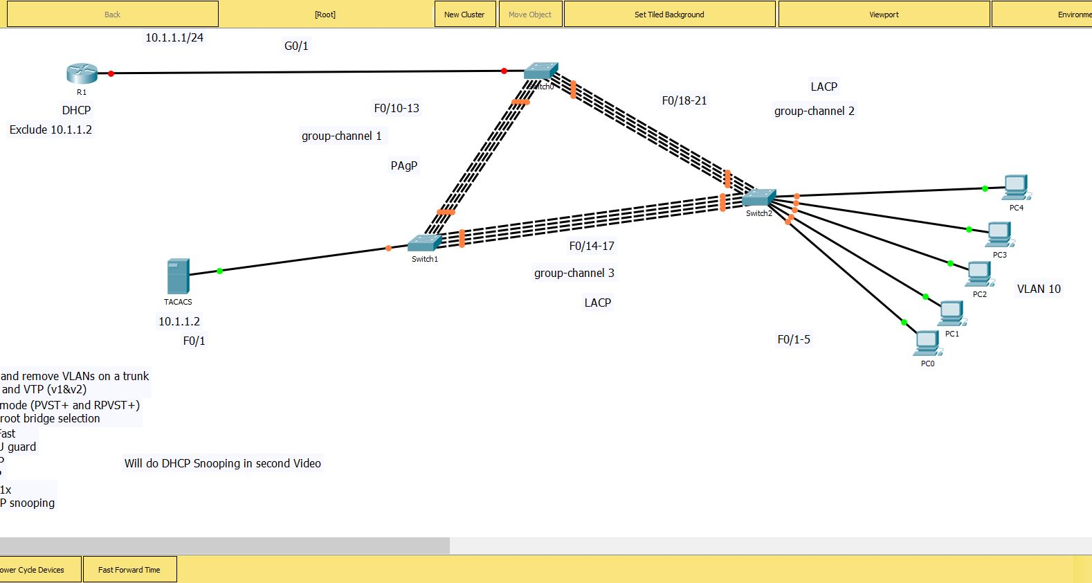 Challege Lab For ICND2 1.0 LAN Switching Technologies