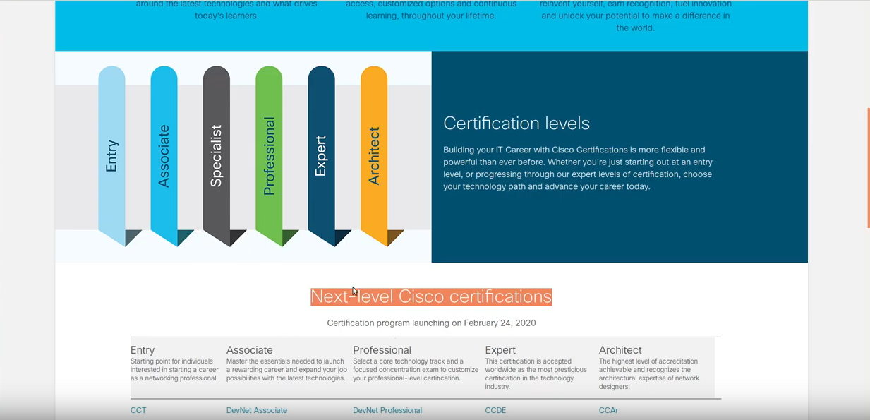 Big Certification News Out of Cisco Live 2019, No More CCENT and More