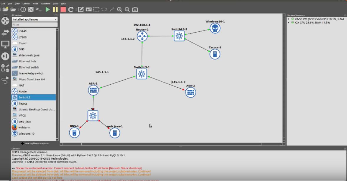CCNA Security IINS   Configure TACACS+ LabCentral Part 1