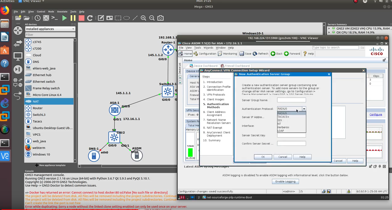 AnyConnect SSL VPN With Cisco ASA Firewall LabCentral Part 2