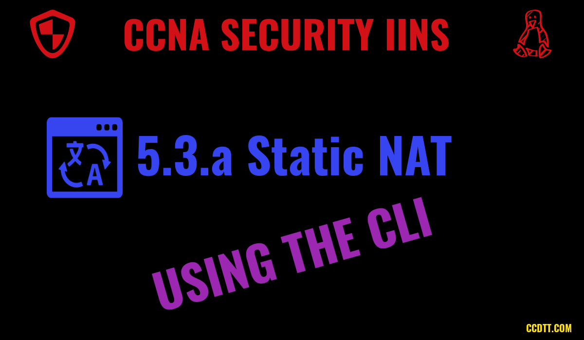 Implement Static NAT on Cisco ASA Using the CLI