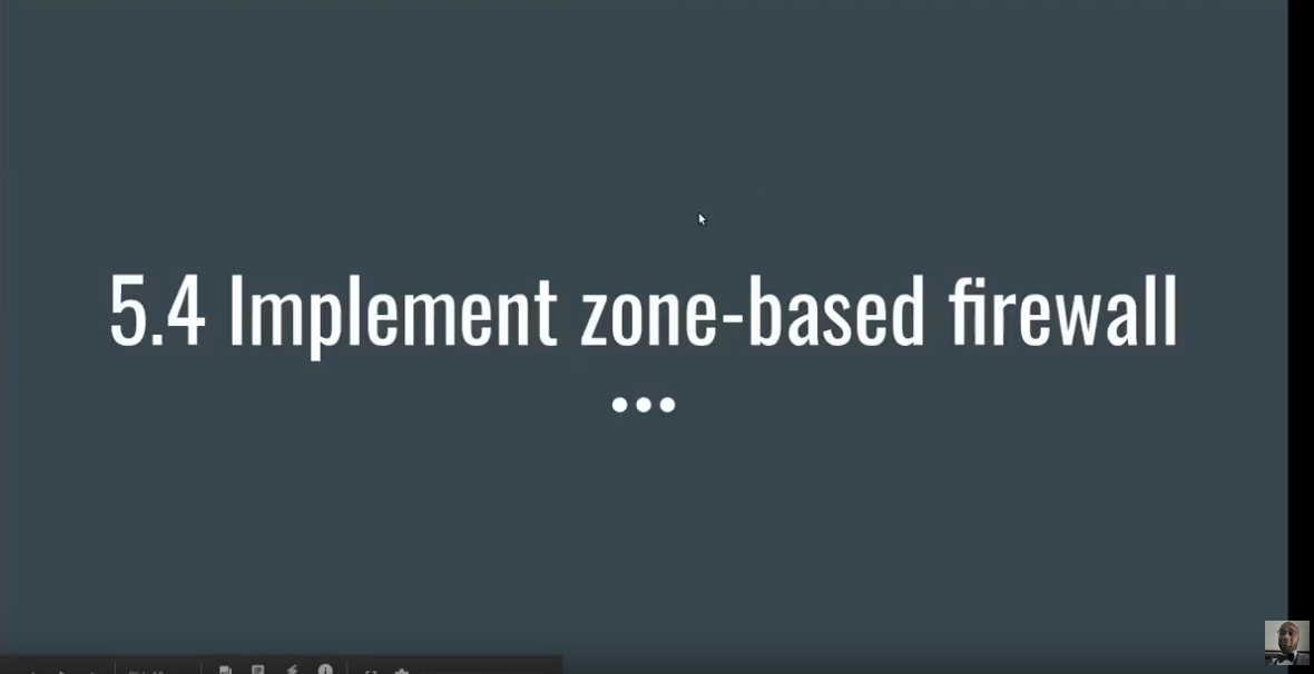 Describing Zone Based Firewall, Zone to Zone, and Self Zone