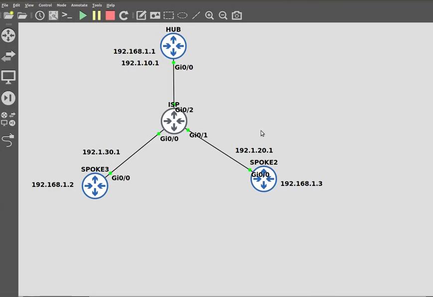 DMVPN Phase 1 Basic Configuration Explained
