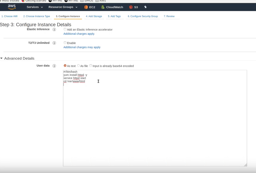 AWS EC2 Bootstrap Lab