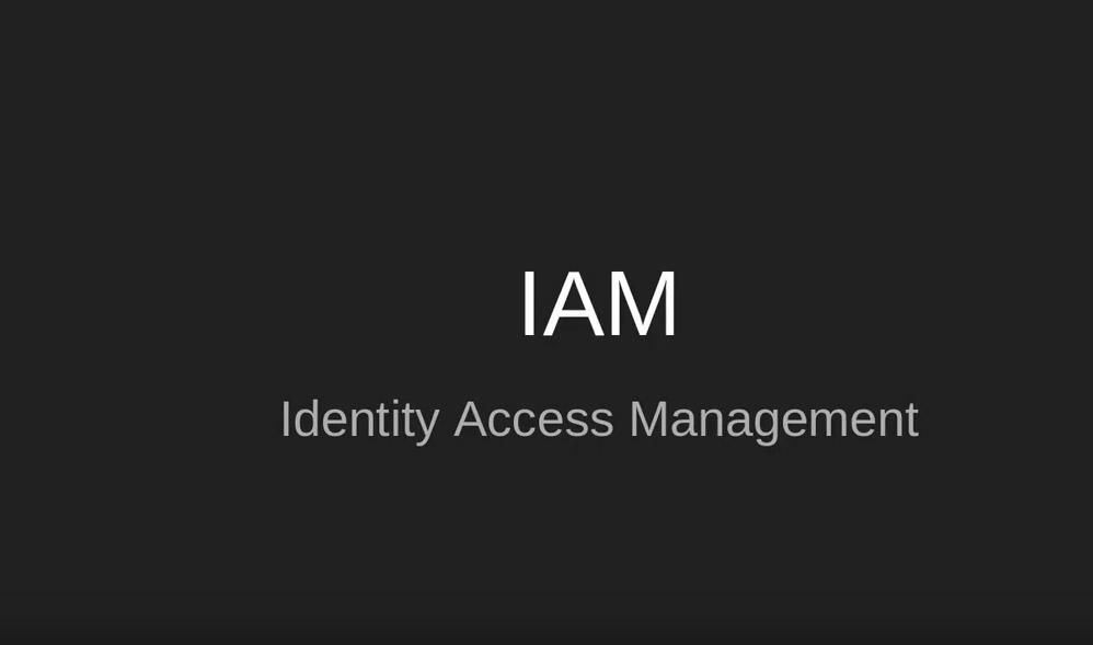 Identity Access Management (IAM)