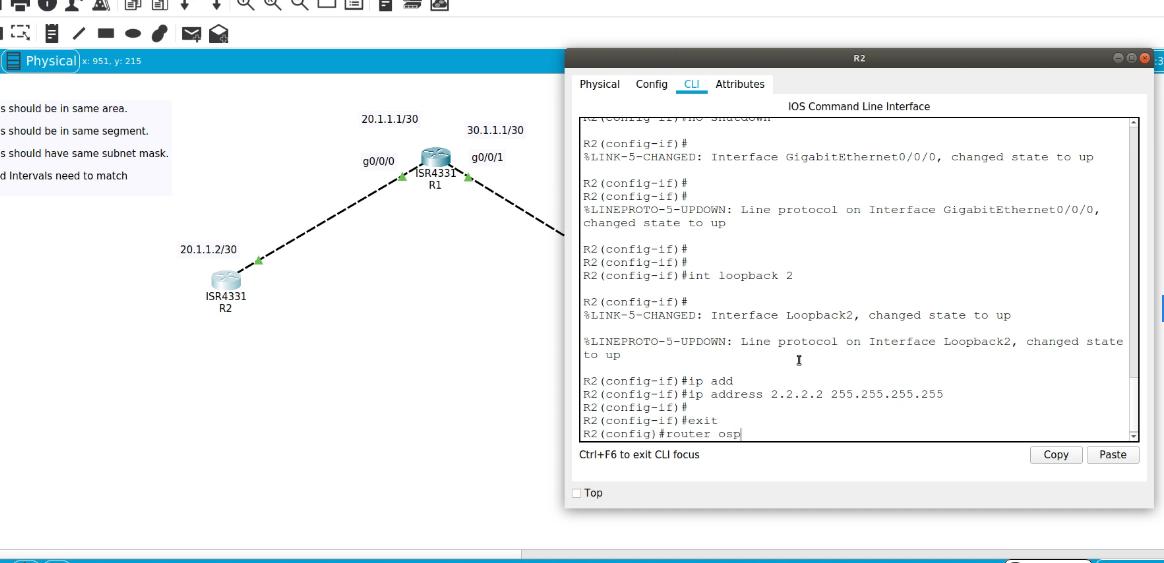 CCNA 200-301 – OSPF Configuration Basics