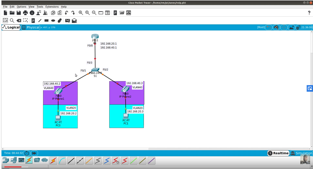 CCNA 200-301 – Configure and Verify Data and Voice VLANs